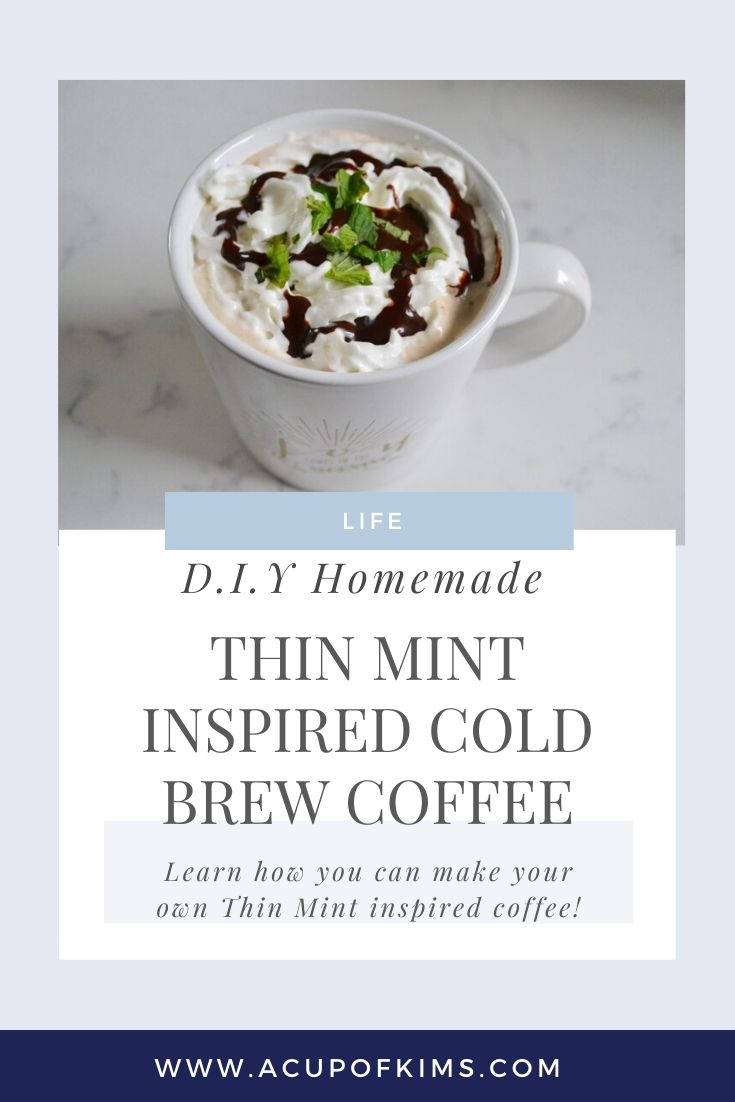 DIY: Homemade Mint Chocolate Cold Brew Recipe