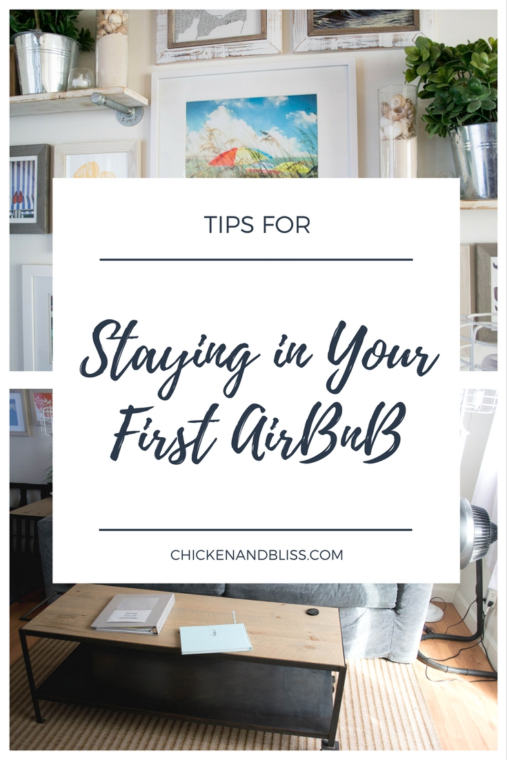 Tips for Staying in Your First AirBnB