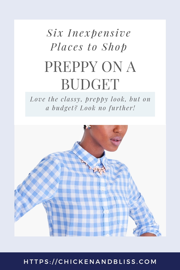 Six Inexpensive Places to Shop for Preppy Clothes on a Budget