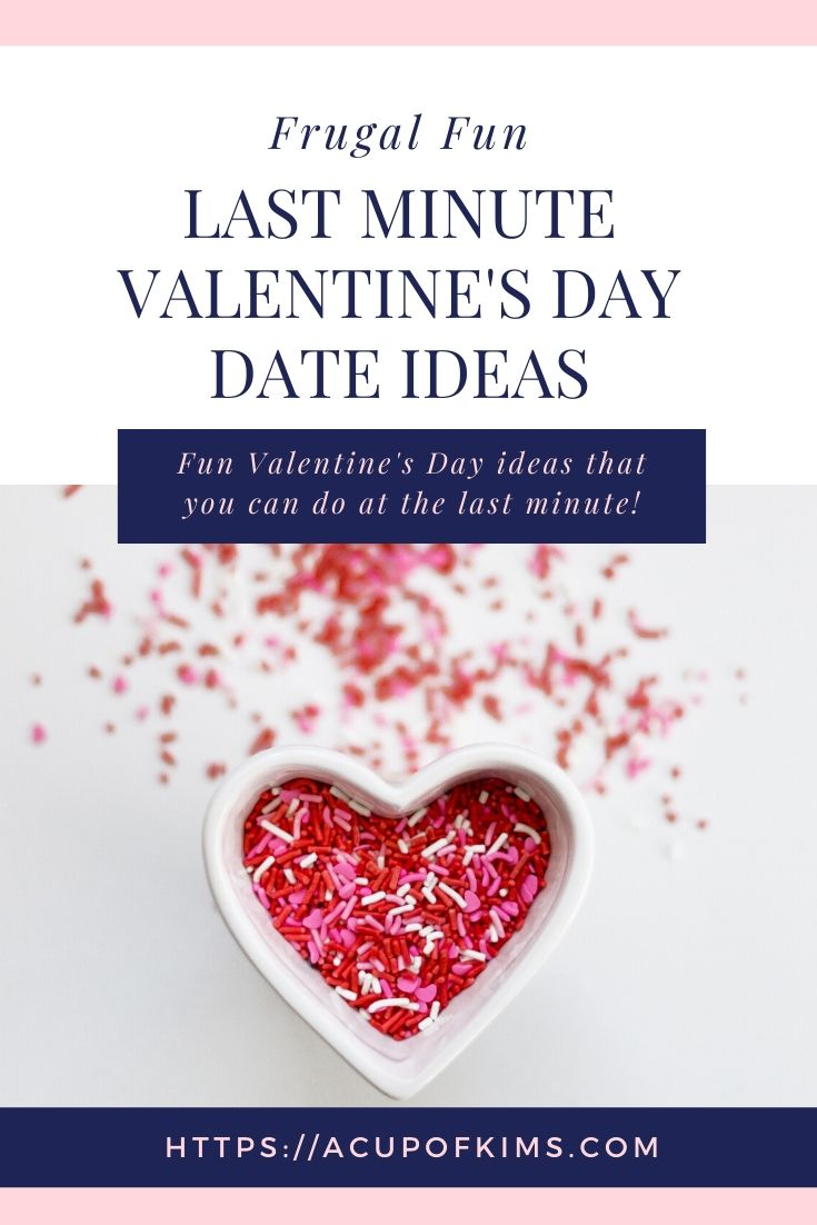 Frugal Fun: Inexpensive Last Minute Valentine's Day Ideas