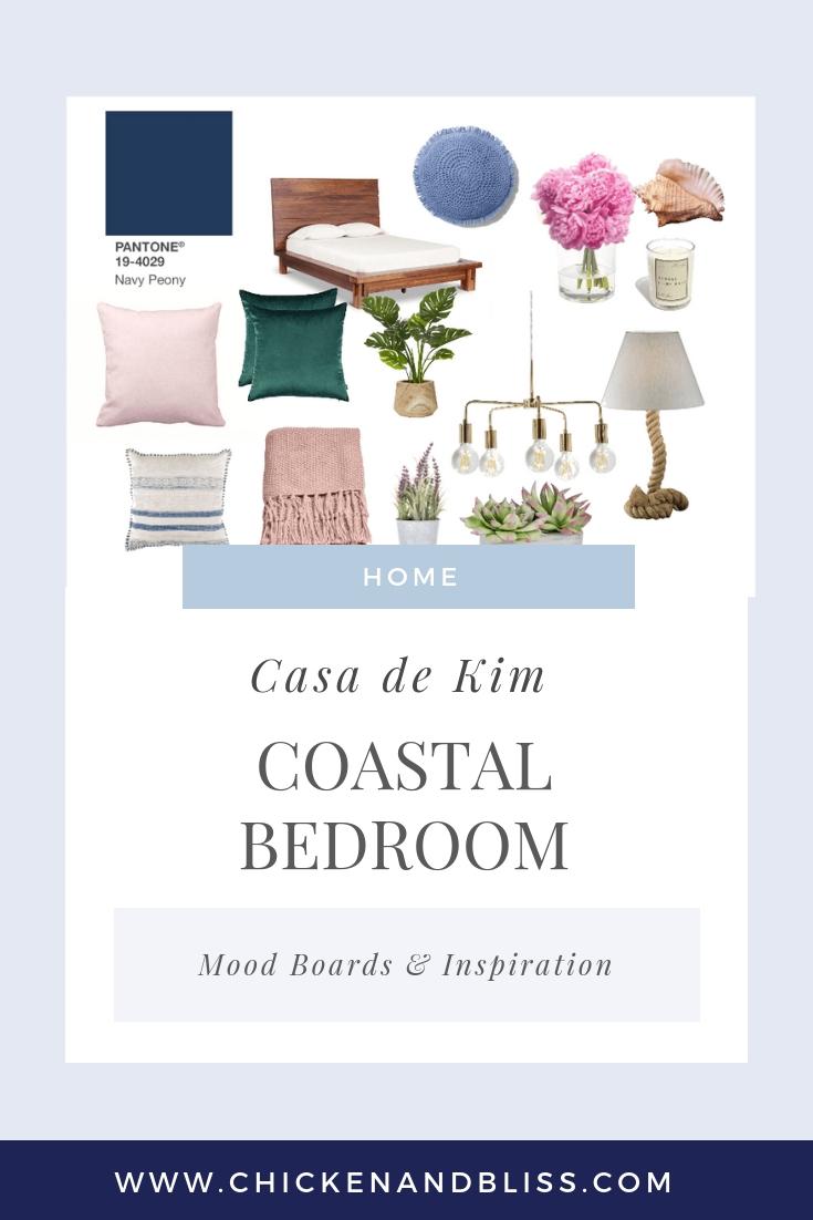 Coastal Bedroom Mood Boards