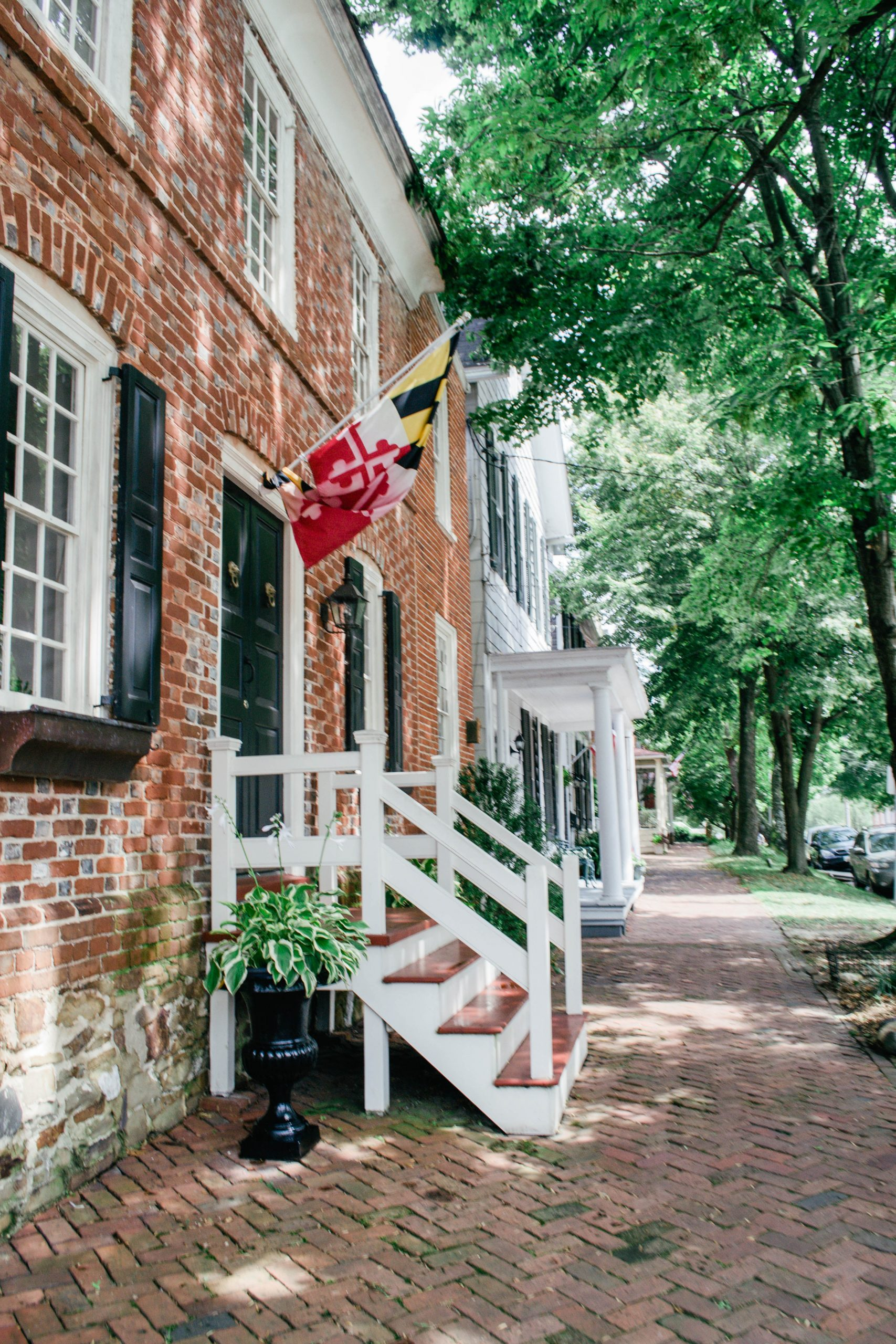 A Photo Story: Colonial Homes & Views in Chestertown, MD